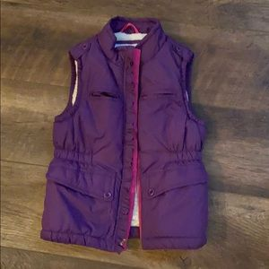 Gap Kids Sherpa lined vest